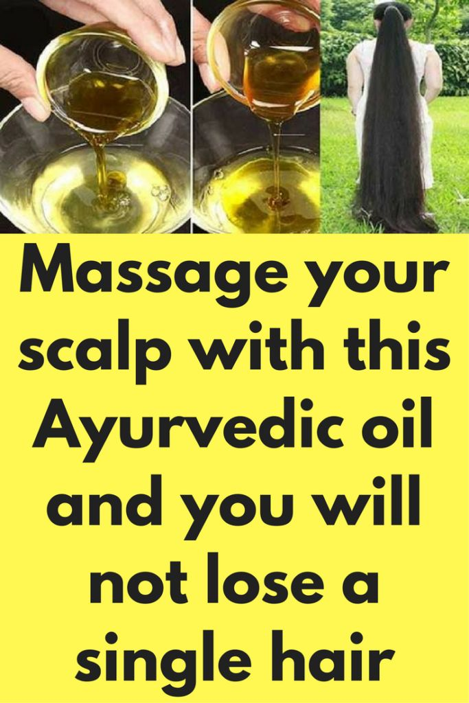 Massage Your Scalp With This Ayurvedic Oil, You Will Never