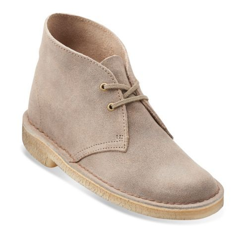 Womens Desert Boot Taupe Distressed - Clarks Womens Shoes - Womens Heels and Flats - Clarks - Clarks® Shoes
