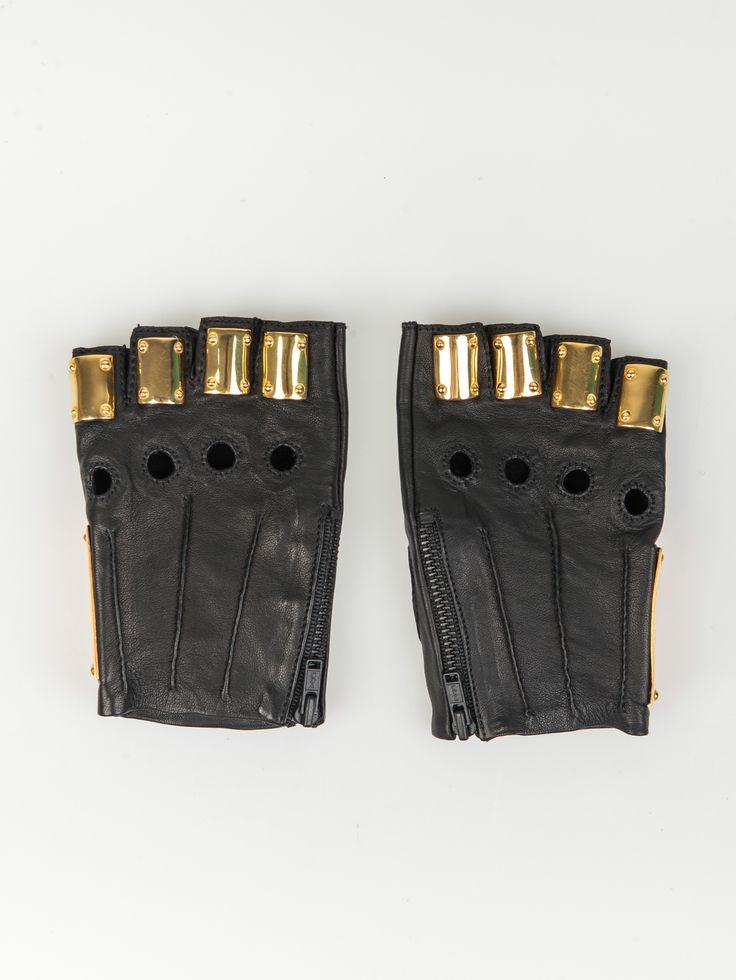 MAJESTY BLACK , Armor Eldiven Altın #shopigo#shopigono17#womenswear#ss15#madonna#majestyblack