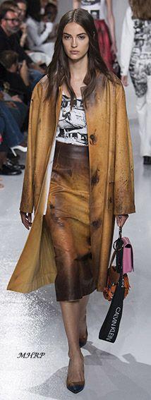 Calvin Klein Spring 2018 - image from vogue.com