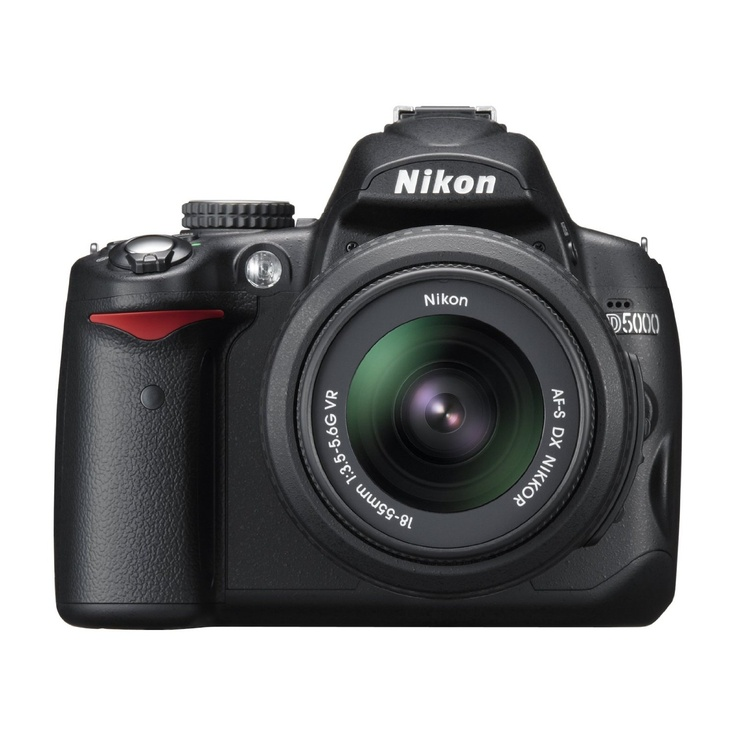 Nikon D5000 - A decent SLR, given the price.