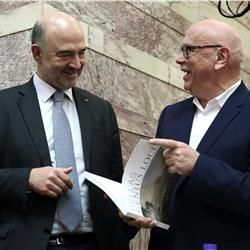 Greece has gone 80-90 percent of the way to becoming 'normal' EU country says Moscovici