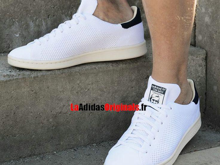 Adidas Originals Stan Smith OG Primeknit - Chaussure Pas Cher Pour Homme/Femme Blanc S75148-Boutique Adidas Originals de Running (FR) - LaAdidasOriginals.fr