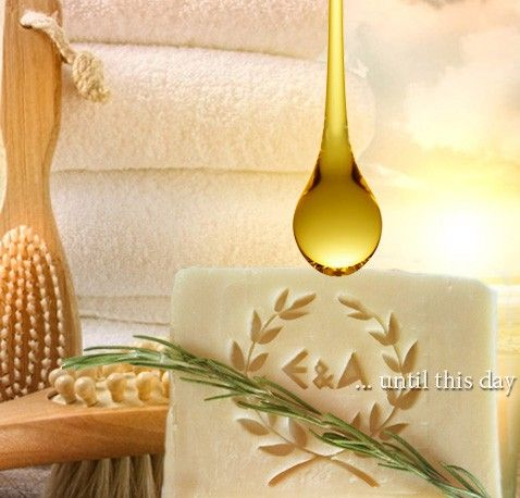 Handmade Greek olive oil soap