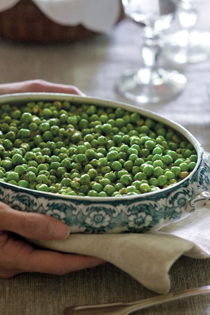 Creamed peas are a great side to any meal.