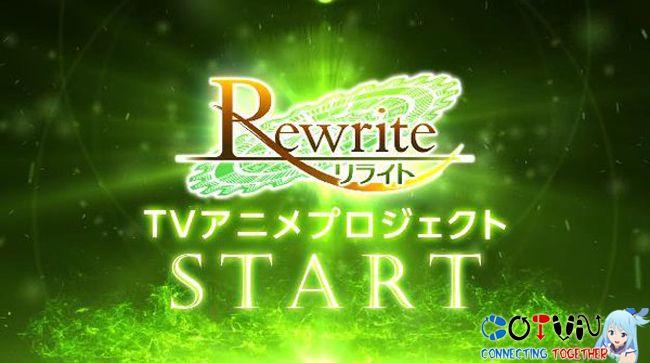 TV anime Rewrite của Key tung video quảng cáo mới | CoTvn.Net
