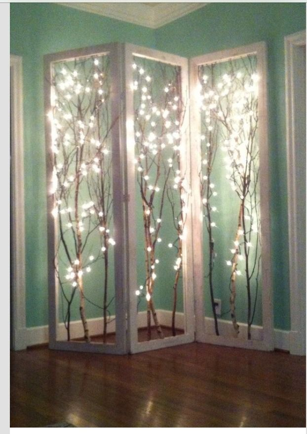 Cool Lighting Idea, And A Unique Ambiance To Any Area Of Your Home