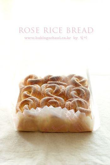 메이플 장미 쌀 빵(쌀베이킹)