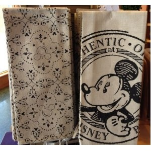 Mickey mouse kitchen towels, Disney home décor