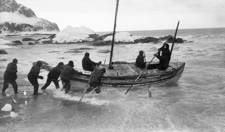 The James Caird lifeboat