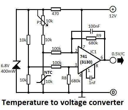voltageconverter circuit is an electric power converter which rh pinterest com