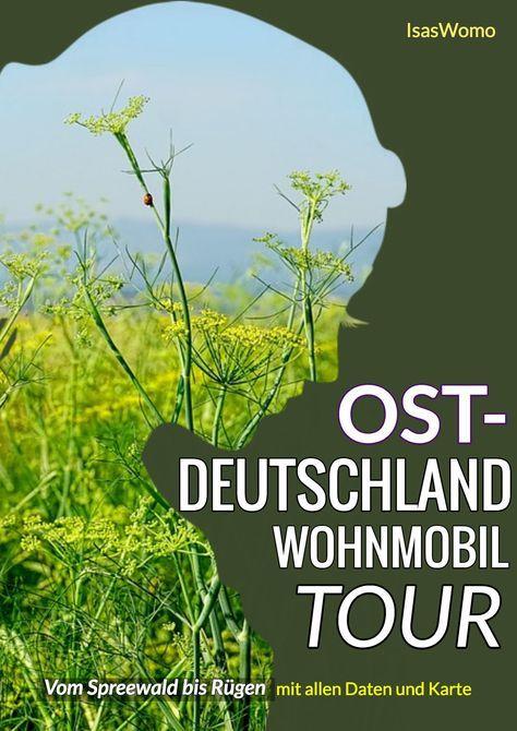 Roadtrip durch den Osten – Tourplan für eine Womo Ostdeutschland Reise – Reiseziele