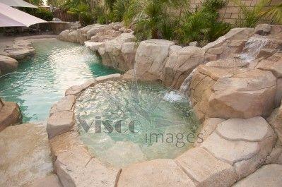 tropical hot tub