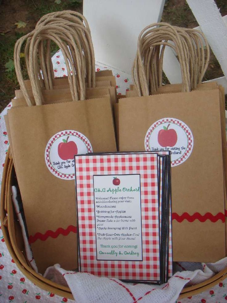 Apple Orchard Birthday Party Ideas | Photo 6 of 23 | Catch My Party