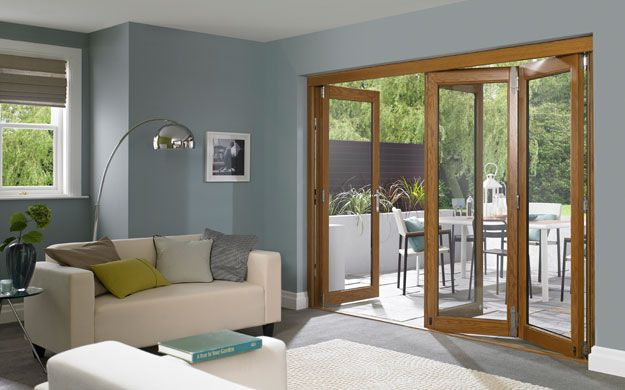 Master External Folding Doors 6ft Pre Finished White Set - from http://www.vufold.co.uk