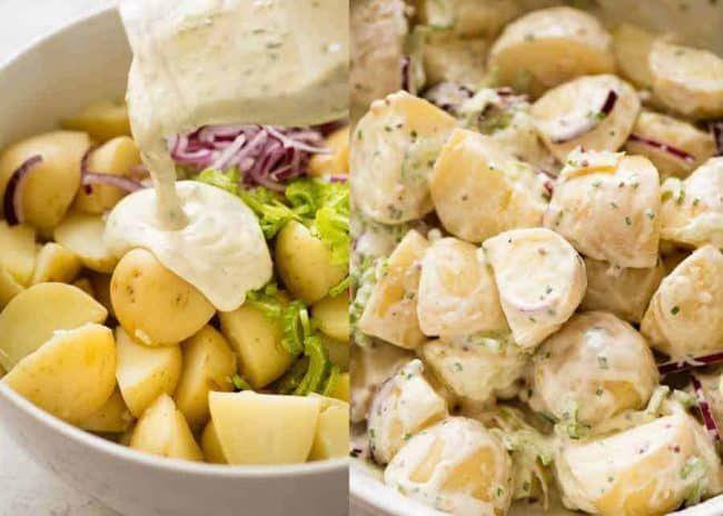 Creamy Potato Salad Recipe With Yogurt