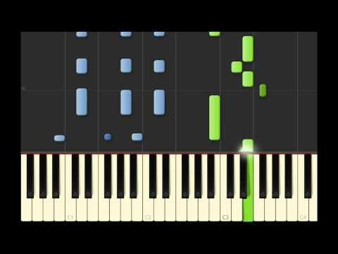 Radioactive- Imagine Dragons: Piano Tutorial - a pretty simple song