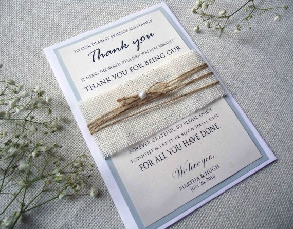Thank You Cards Wedding Thank you cards Rustic Thank You Cards Personalized Thank You Cards on Etsy