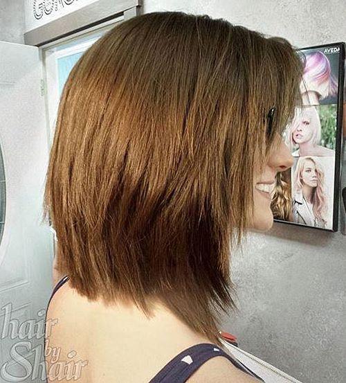 chopped medium haircut