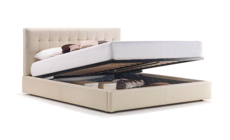 CLEO storage bed, design by D.BONFANTI - G.MOSCATELLI