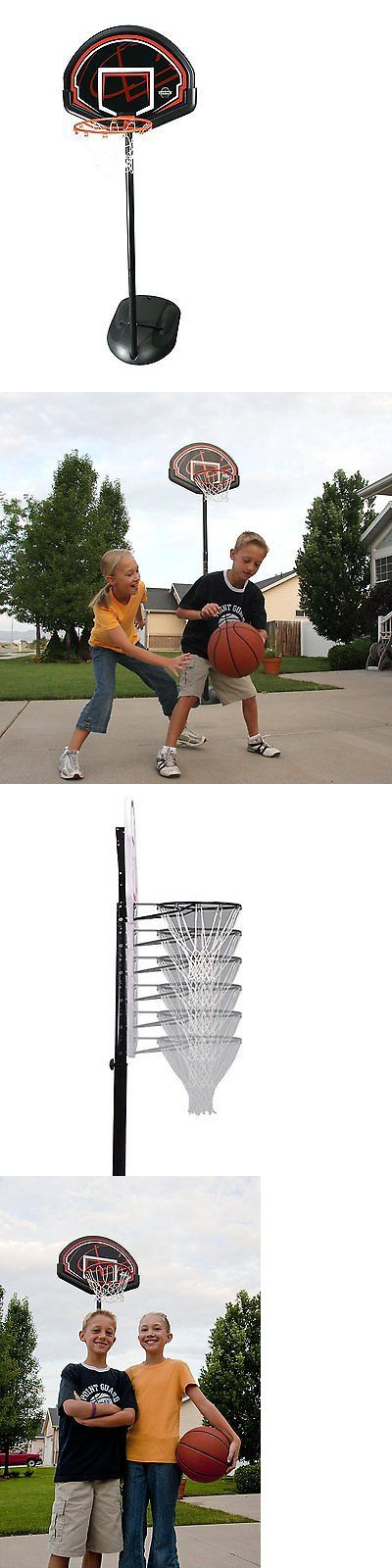 Backboard Systems 21196: Lifetime 90022 Youth Height Adjustable Portable Basketball System BUY IT NOW ONLY: $76.07