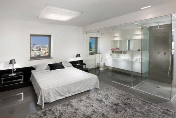 #Bedroom and #bathroom 2 in 1 suites – clever combos or risky designs?  What do you think of this #floorplan layout?
