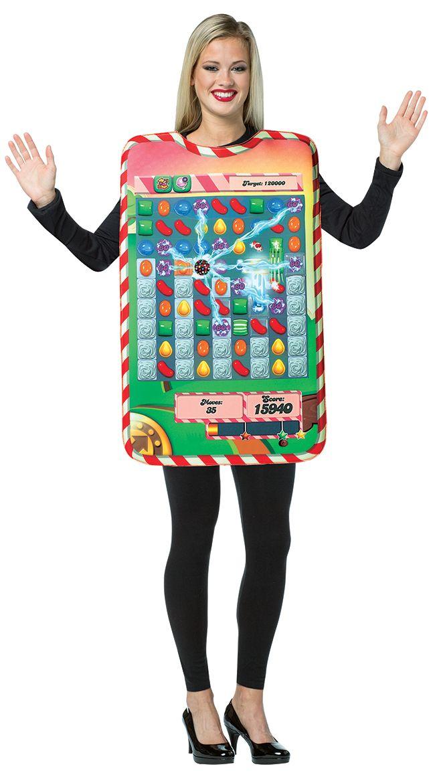 Candy Crush Costume, Candy Crush Game Halloween Costume, Game Board Costume