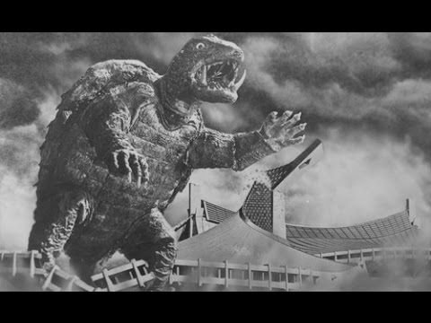 Gamera Movies!  Loved to watch these as a kiddo!  Top Sci Fi Movie English HD Length ☛ Gamera 1965 - YouTube