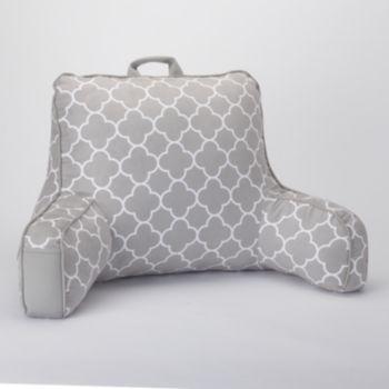 Simple+by+Design+Trellis+Faux-Suede+Backrest+Pillow