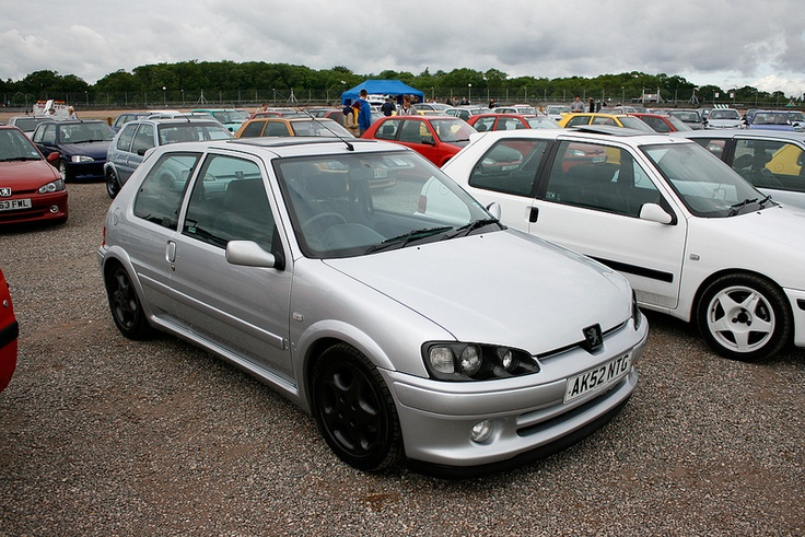 #Silver #Peugeot 106