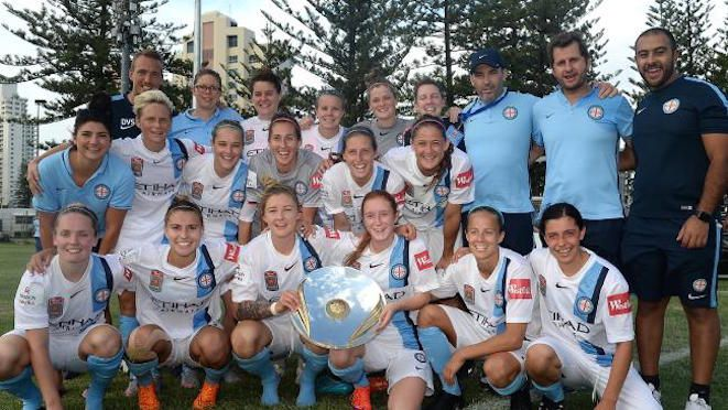 Congratulations to Melbourne City Women who have won the W-League with three rounds to go in their inaugural season after 10 consecutive victories scoring 32 goals and conceding only three. 29.12.15
