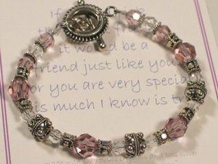 Perfect Friend MOL Jewelry. $58.00. Bali Sterling Silver. Gift Box. Swarovski Crystals. Perfect Friend Poem Card