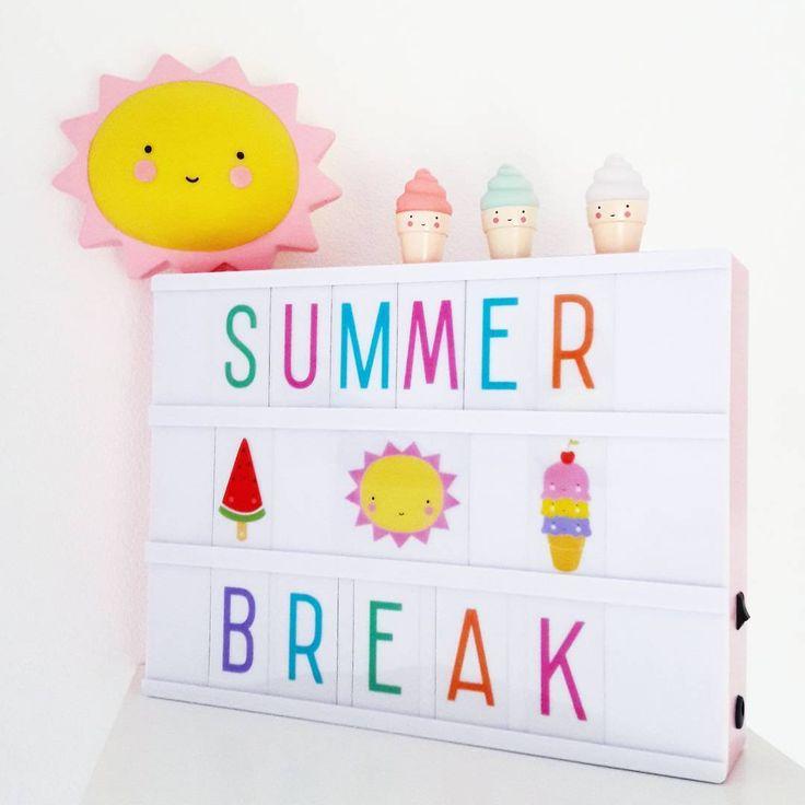 "Kids Boetiek on Instagram: ""We take a summer break -10% code: SUMMER2017 . #summerbreak #summer2017 #zomer #vakantie #lightbox #alittlelovelycompany #shoponline…"""