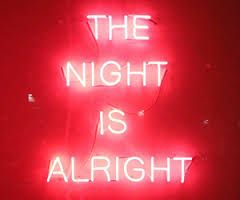 Image result for neon words