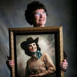First Miss Rodeo America Marilyn Freimark 1955!  She was Miss Rodeo WYOMING!! Working hard to follow in her legacy!!