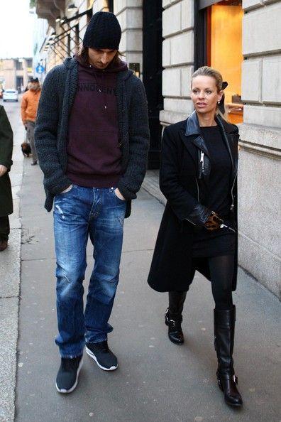Zlatan ibrahimovich & his wife