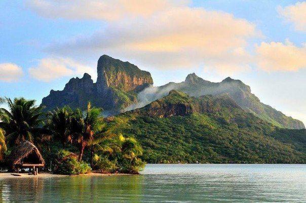 Побережье острова Бора-Бора, Французская Полинезия