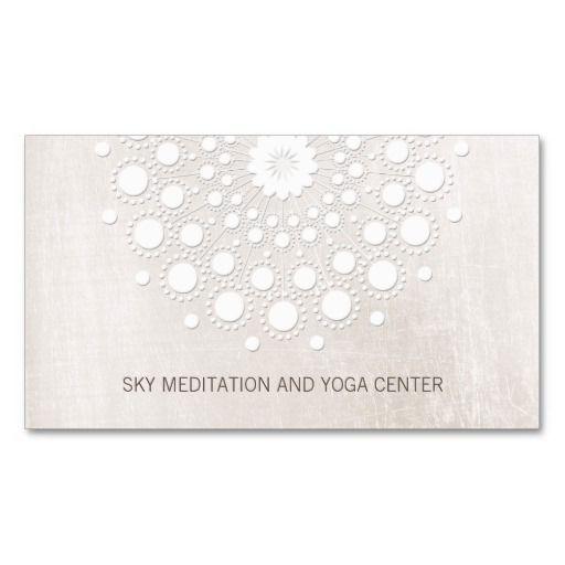 298 best Yoga Instructor Business Cards images on Pinterest