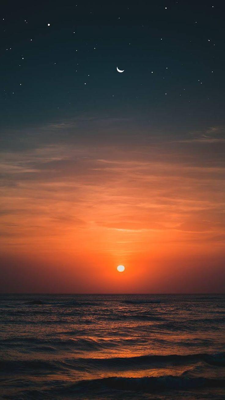 Sunset In The Beach Beach Sunset Wallpaper Sunset