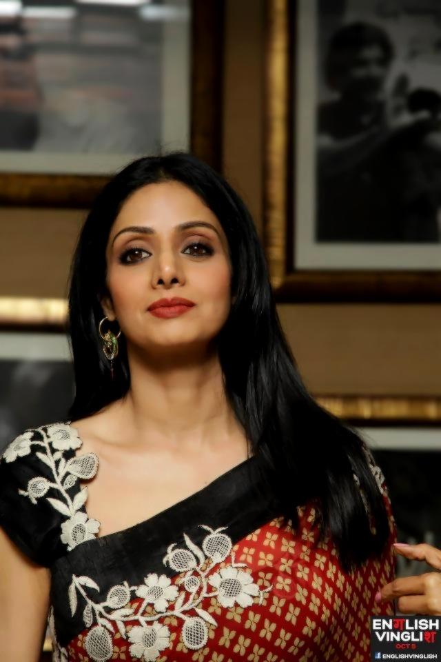 anjanana: I wanna age like Sridevi. She's 50 and looks better than everyone el... 5
