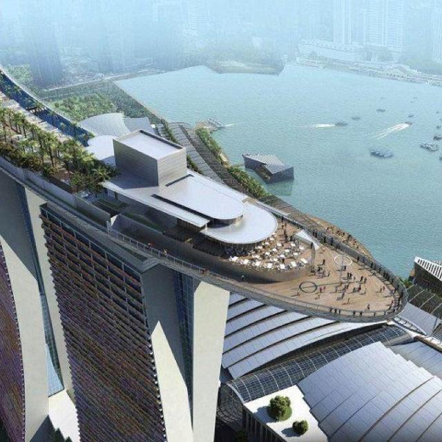 싱가폴 샌즈 호텔    Its called MBS (Marina bay sands). In Singapore