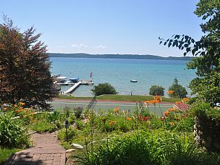 Beautiful Torch Lake With Sunset Views, Tennis Court, Large Decks, Gentle BreezeVacation Rental in Kewadin from @homeaway! #vacation #rental #travel #homeaway