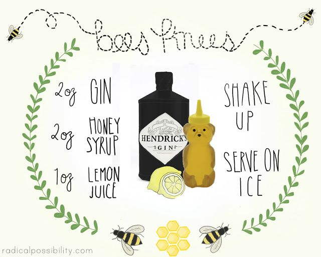 radical possibility: You're The Bees Knees - Cocktail Recipe