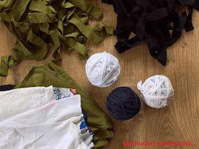 T-shirt Yarn DIY