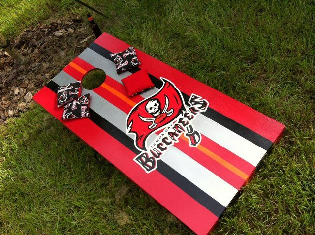 Tampa Bay Buccaneers Cornhole - something else to make!