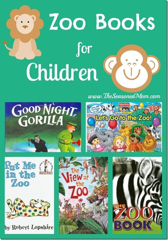 Zoo Books for Children - The Seasoned Mom
