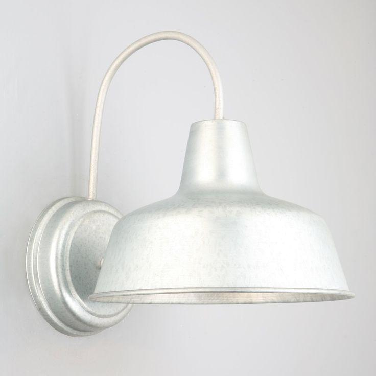 Francois 1-Light Outdoor Barn Light