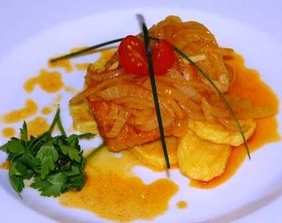 'Bacalhau à Braga', a recipe you can find in the restaurants of the beautiful city of Braga!