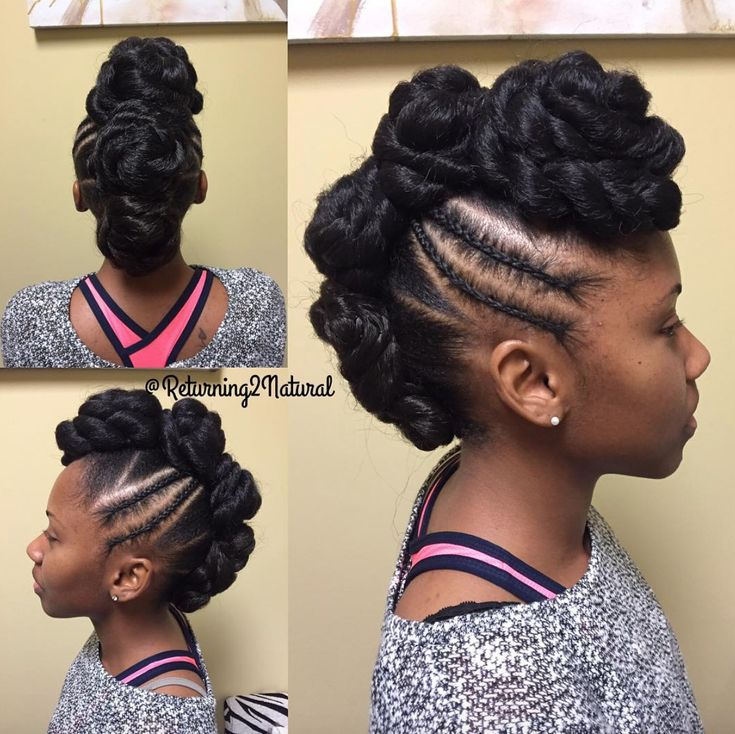 561 best updos images on pinterest hairstyle natural hairstyles nice updo by black hair information urmus Image collections