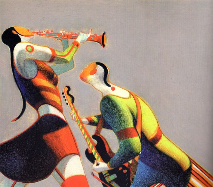 Lorenzo Mattotti, 2000, via Michael Sporn Animation, mat13 00.jpg (1200×1056)